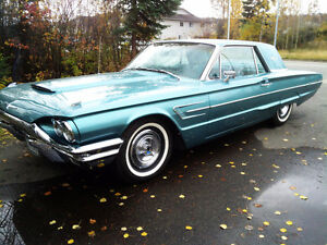 1965 Ford Thunderbird - ICBC Collector Plates/Certification.