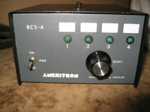Ameritron RCS-4 Remote Coax Switch ham radio cb radio two way