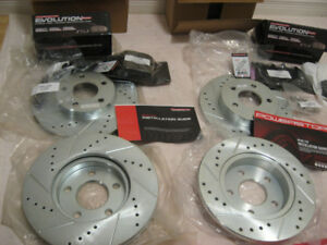 05-10 Mustang new brake rotors and pads for V8 GT