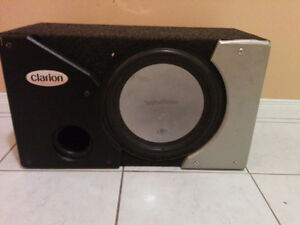 """Rockford Fosgate 12""""  SUBWOOFER in Ported Box"""