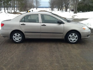 2004 Toyota Corolla Ce Sedan Near Mint and Low Mileage