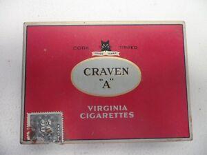 Cigarette Tin Collectible