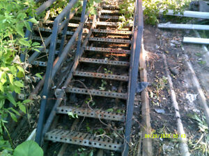 Fire Escape Side Rails $200.00 per pair