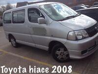 Toyota Hiace Minibus 8 Seater 2008