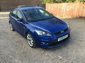 2008 (08) Ford Focus ST ST225 ST2 - 82k, 5 door, Performance Blue - Spares or Repairs