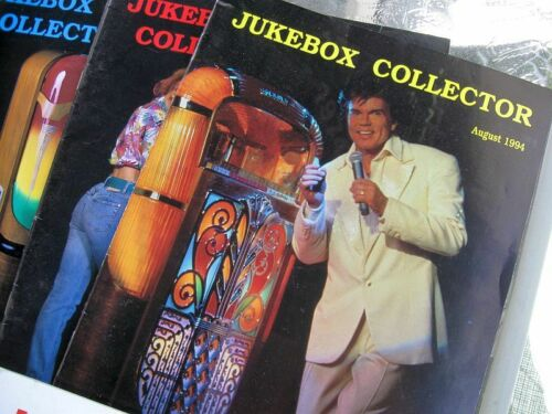 LOT 49 VINTAGE JUKEBOX COLLECTOR MAGAZINES 1994 AND UP... MUSIC RECORDS VINYL