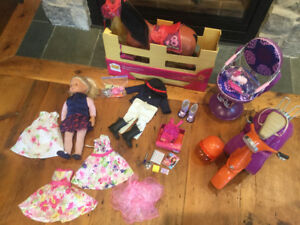 Huge lot of our generation doll and accessories