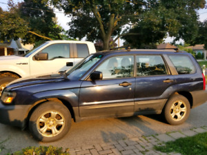 2005 AWD Subaru Forester $5,500 Low kms and Extremely Clean