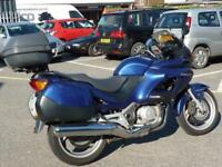 Honda NT650V Deauville 2005 54 plate Blue 15435 Miles