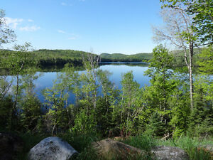10 Acre Lake front building lot for sale