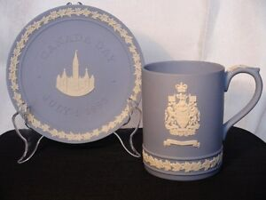 wedgwood Constitution Mug and Canada Day Plate