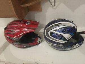 Kids size helmets