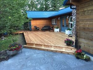 Fences,Decks,Sod,Patio TL landscaping is ready to go!