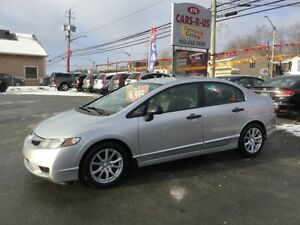 2010 Honda Civic DX    Free winter tires on all cars and SUV'S