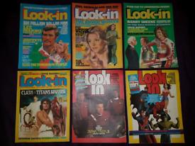Marvel, DC, star Trek Vintage Comic bundle magazines. Look in