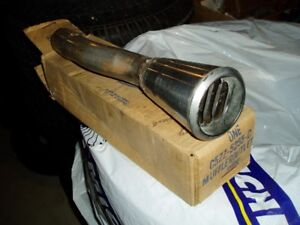 65-66 MUSTANG GT FORD NOS EXHAUST TIPS $350 LOTS OF OTHER PARTS!