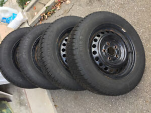 FOR SALE: 4 Continental Winter Contact Tires