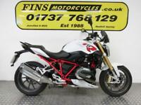 BMW R1200R Sport, 1 Owner White/Red Full BMW History, MOT, Warranty