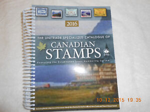 Unitrade Specialized Catalogue of Canadian Stamps.