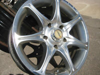 "Honda Accord mag wheels 15"" x 5 bolt pattern"