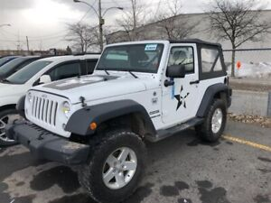 Jeep Wrangler 4WD 2dr Sport mags  2014