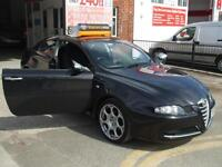ALFA ROMEO GT 1750cc BLACKLINE IN NERO BLACK 3 MONTHS WARRANTY FINANCE