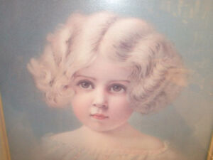 Young Girl Victorian Print