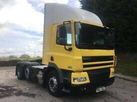 2012 12 DAF CF 85.410 Euro 5 6x2 day cab tractor unit