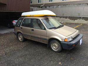 1987 Honda Civic AWD Wagon Hatchback