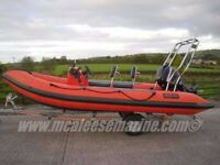 Christmas Present2010 XS 500 Rigid Inflatable Boat powered with a Mercury 60HP fourstroke o