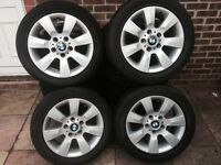 Bmw Alloy wheels x4 205 55 r16
