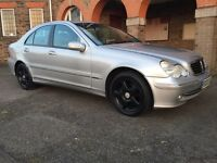 2003 Mercedes-Benz C200 1.8 Kompressor Automatic with FSH