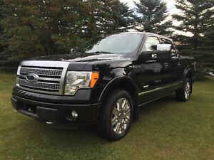 2012 Ford F-150 SuperCrew Platinum Pickup Truck
