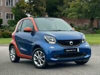 2018 smart fortwo coupe 0.9 Turbo Passion 2dr Auto Coupe Petrol Automatic