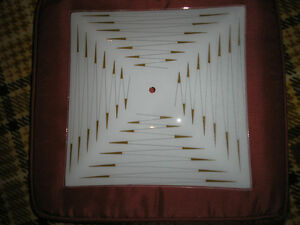 Square Glass Replacement Shade for Ceiling Light Fixture