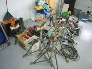 Estate Sale Welding supplies and tools