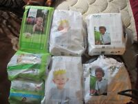 Premium Diapers + Wipes (Naty/7th Generation)