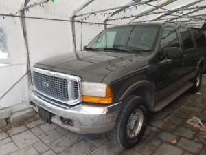 2000 Ford Excursion Limited SUV, Crossover