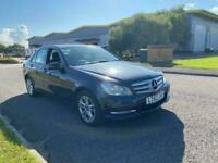 2012 MERCEDES C220 CDI EXCLUSIVE BLUEEFFICENCY- FULL BLACK LEATHERS - DELIVERY