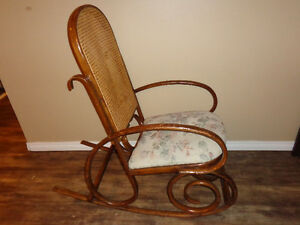 Very Confortble Antique Rocking Chair made of Solid Wood.  the C London Ontario image 3