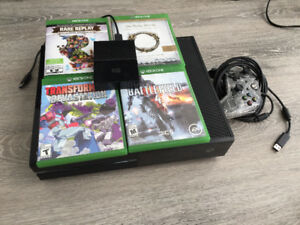 1TB Xbox One With Kinect Camera And a 1TB External Hard Drive