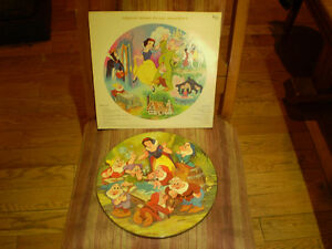 vinyl walt disney snow white and the seven dwarfs 33 tour