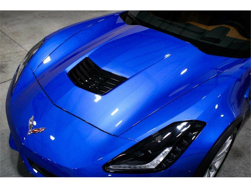 2019 Blue Chevrolet Corvette Convertible 3LT | C7 Corvette Photo 8