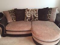DFS sofa/sofa bed/footstool