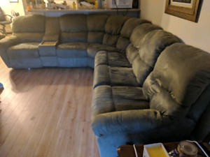 Big comfy sectional in good condition