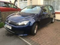 VW golf 1.6 tdi blue motion 5 door hatch 38k, 11 plate