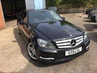 2011 Mercedes-Benz C Class 2.1 C250 CDI BlueEFFICIENCY Sport 7G-Tronic 4dr