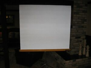 """Projector Screen (50"""" wide X 44"""" tall) Portable London Ontario image 2"""