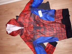Brand new mens spiderman hoodie size m