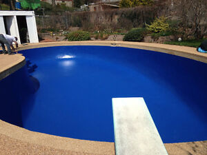 POOL Painting and repair concrete Commercial and Residential Kitchener / Waterloo Kitchener Area image 5